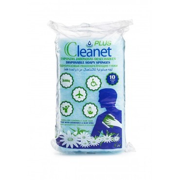 Губка пенообразующая CLEANET PLUS 12х20